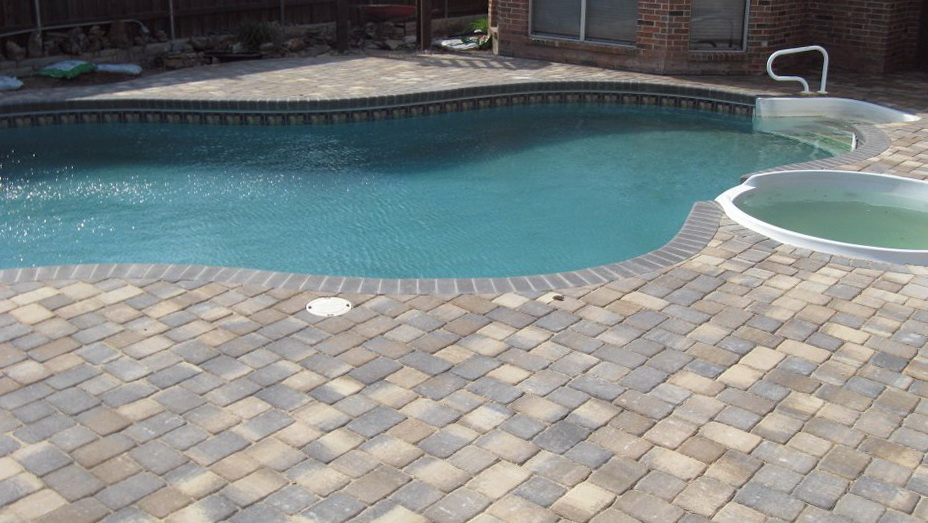 Pools With Paver Decks