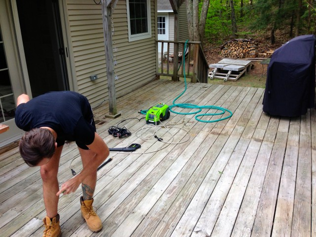 Pressure Washing Deck With Bleach