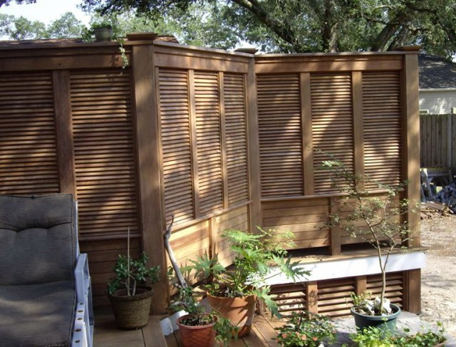 Privacy Screens For Decks Ideas
