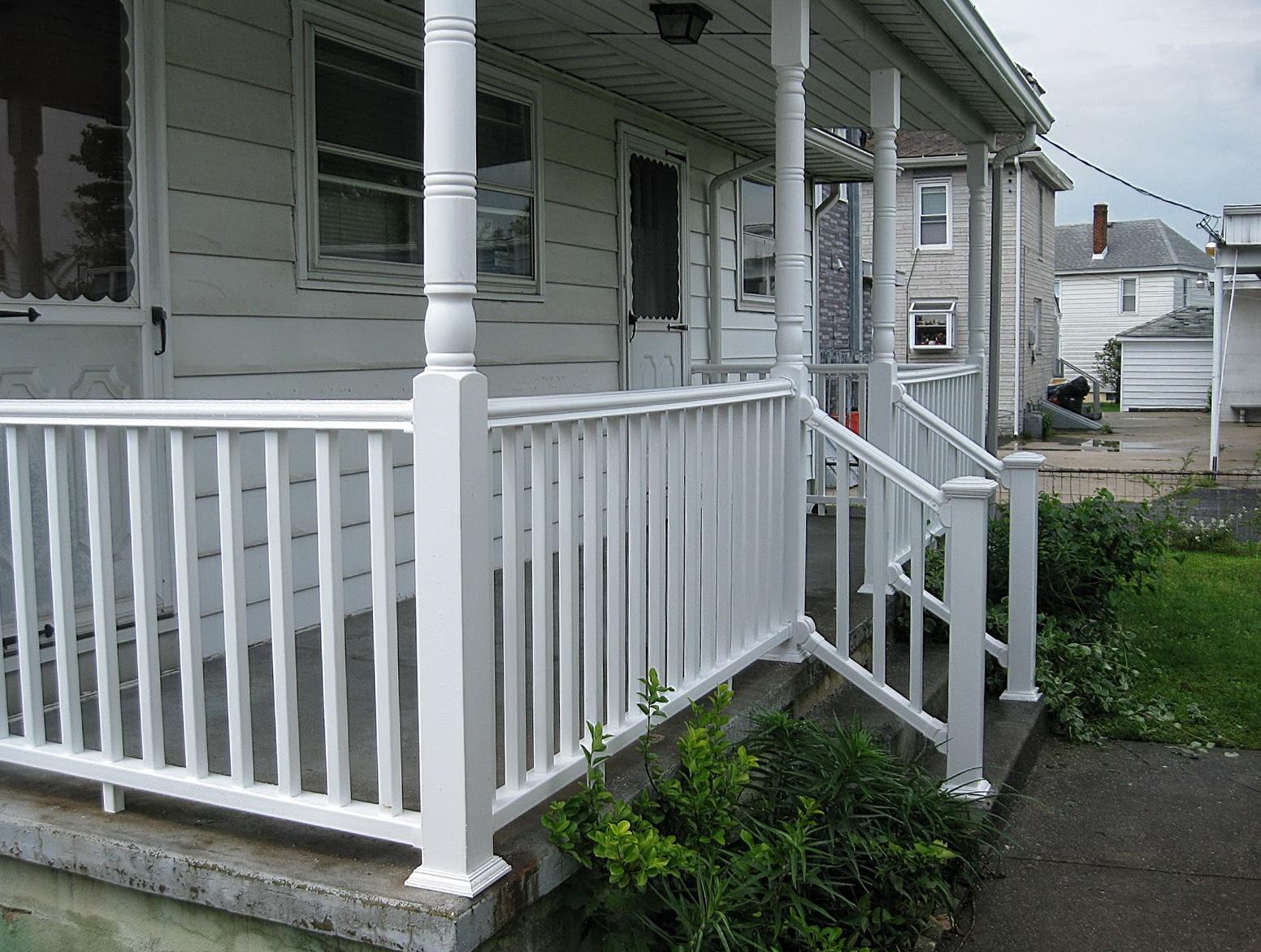 Pvc Deck Railing Lowes Home Design Ideas