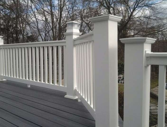 Pvc deck railing systems home design ideas