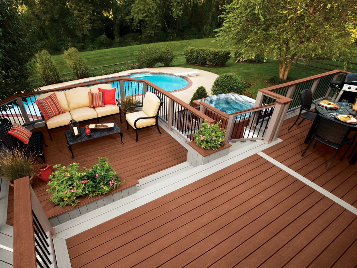 Raised Patio Vs Deck Home Design Ideas