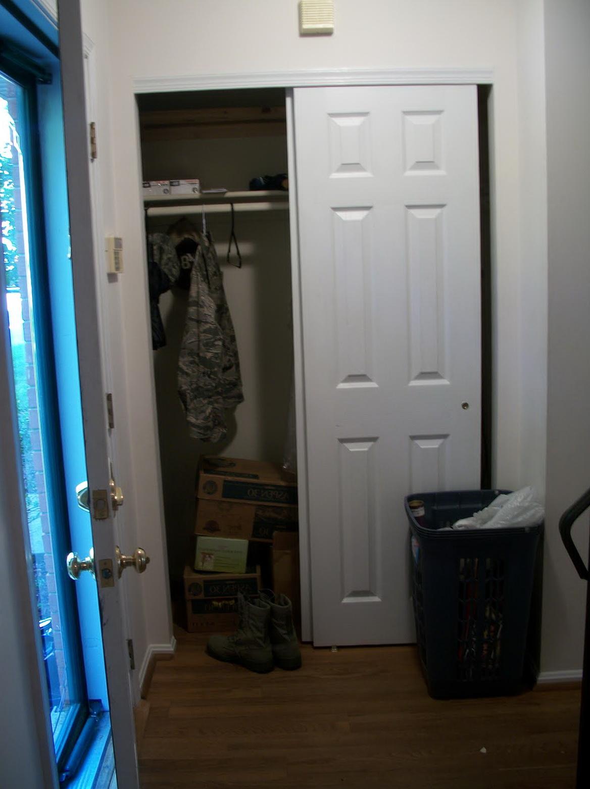 Removing Closet Doors Ideas