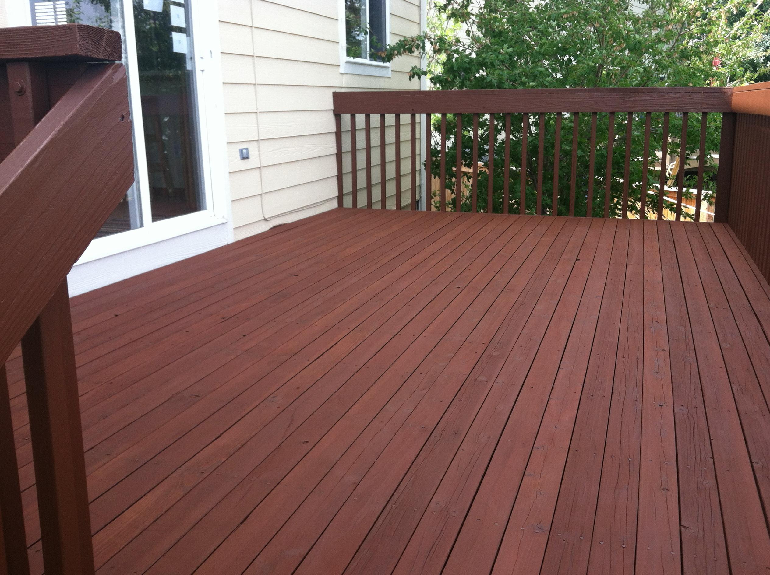 Semi Solid Deck Stain Home Design Ideas