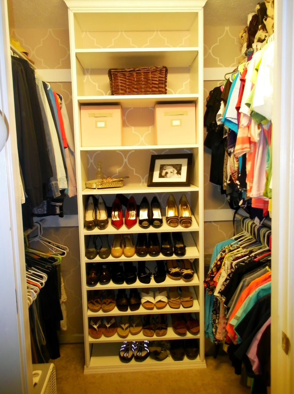 Shoe Closet Organizer Do Yourself