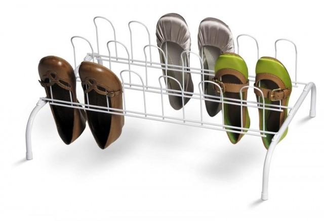 Shoe Organizer For Closet Floor Home Design Ideas