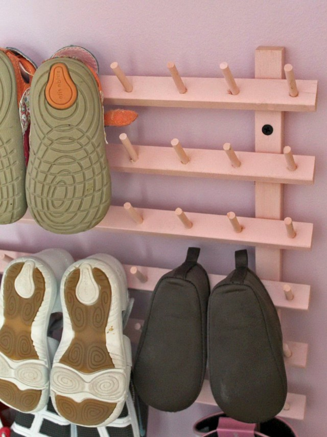 Shoe Rack For Closet Wall
