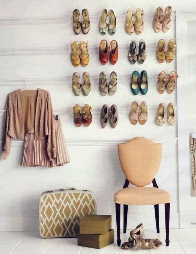 Shoe Rack Ideas For Closet