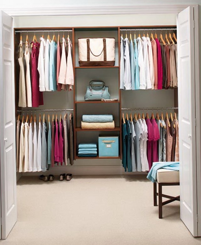 Small Bedroom Closet Solutions
