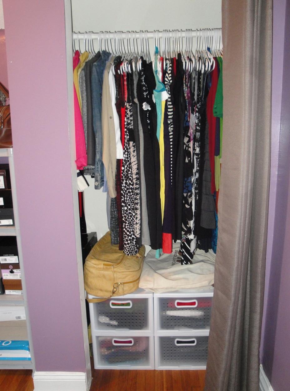 Small Closet Organizing Tips