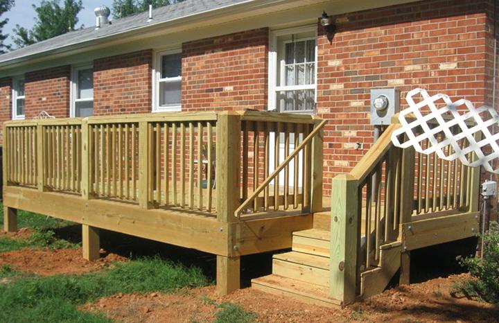 Small Decks And Porches