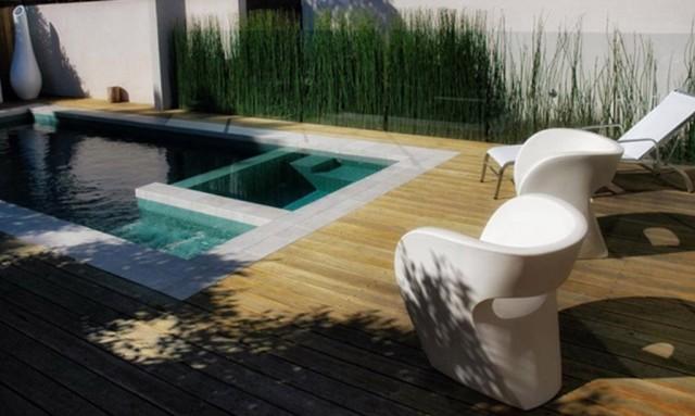 Spa Pool Deck Designs