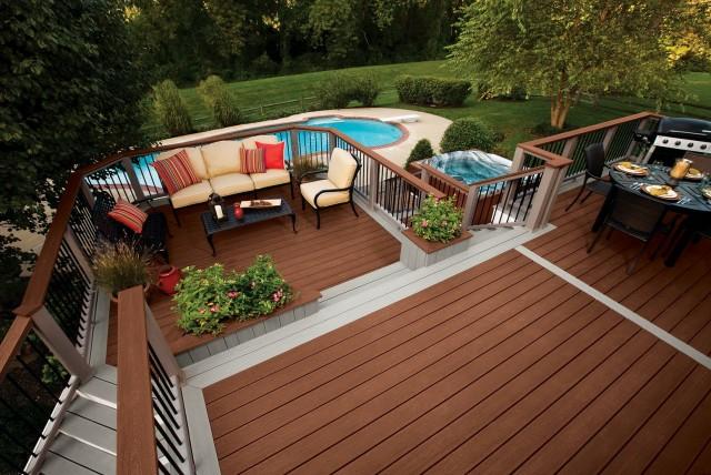 Trex Deck Designs Pictures