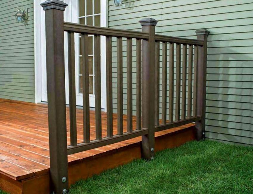 Trex Deck Railing Installation Home Design Ideas