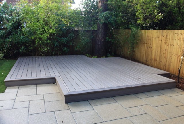 White Composite Decking Uk