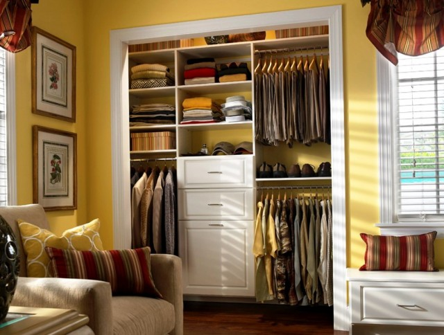 White Drawers For Closet