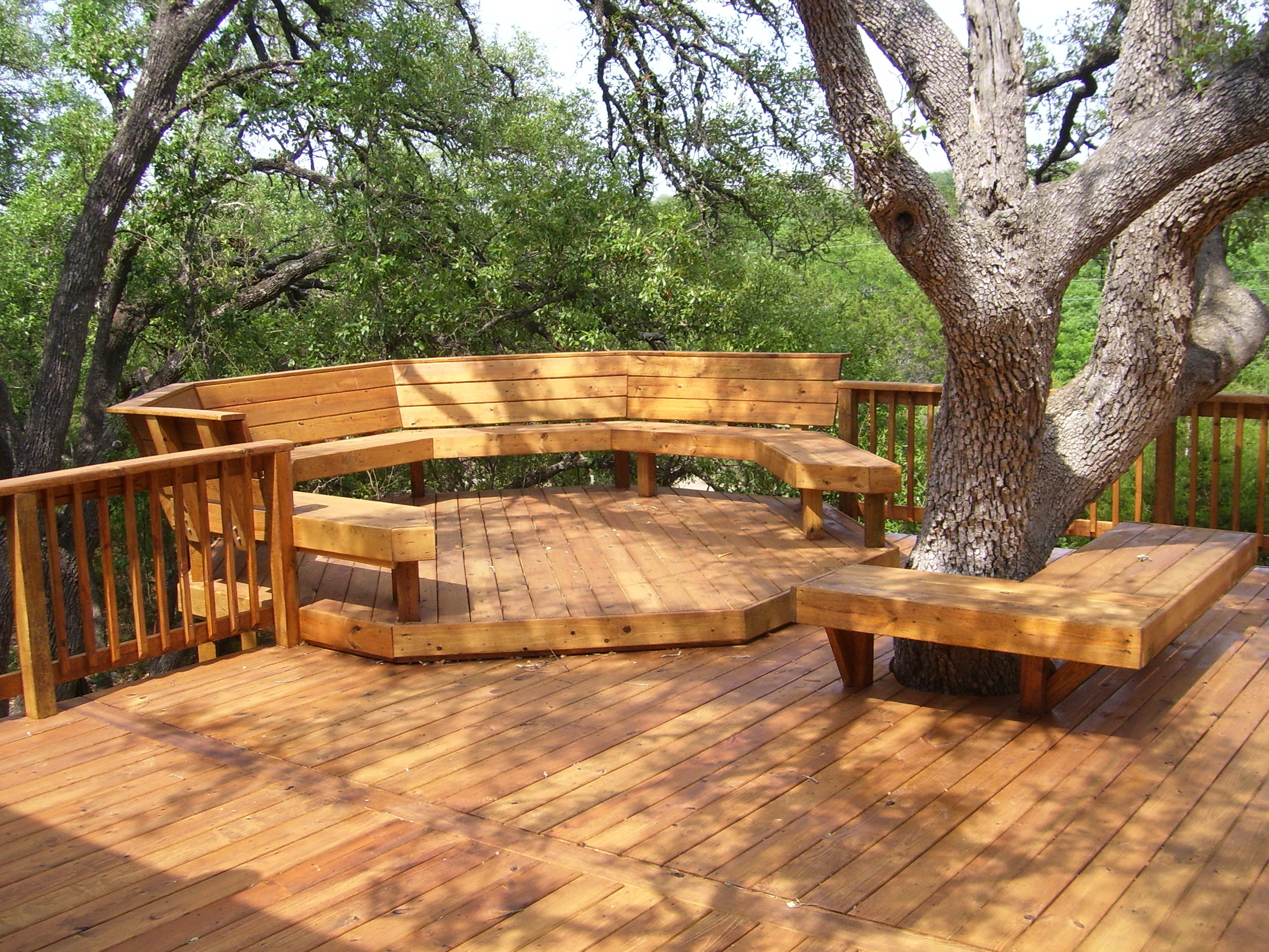 Wood Deck Designs Ideas