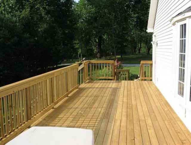 Wood Deck Designs Photos