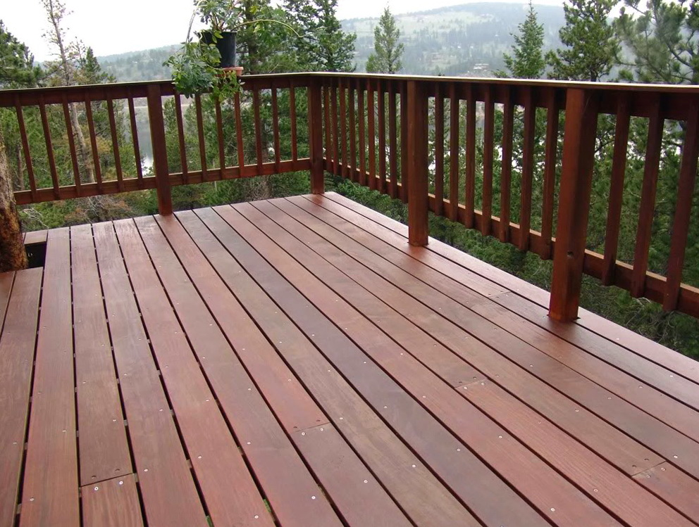 Wood Deck Railing Designs