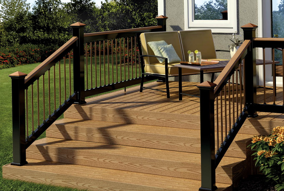 Wood Deck Railing Kits