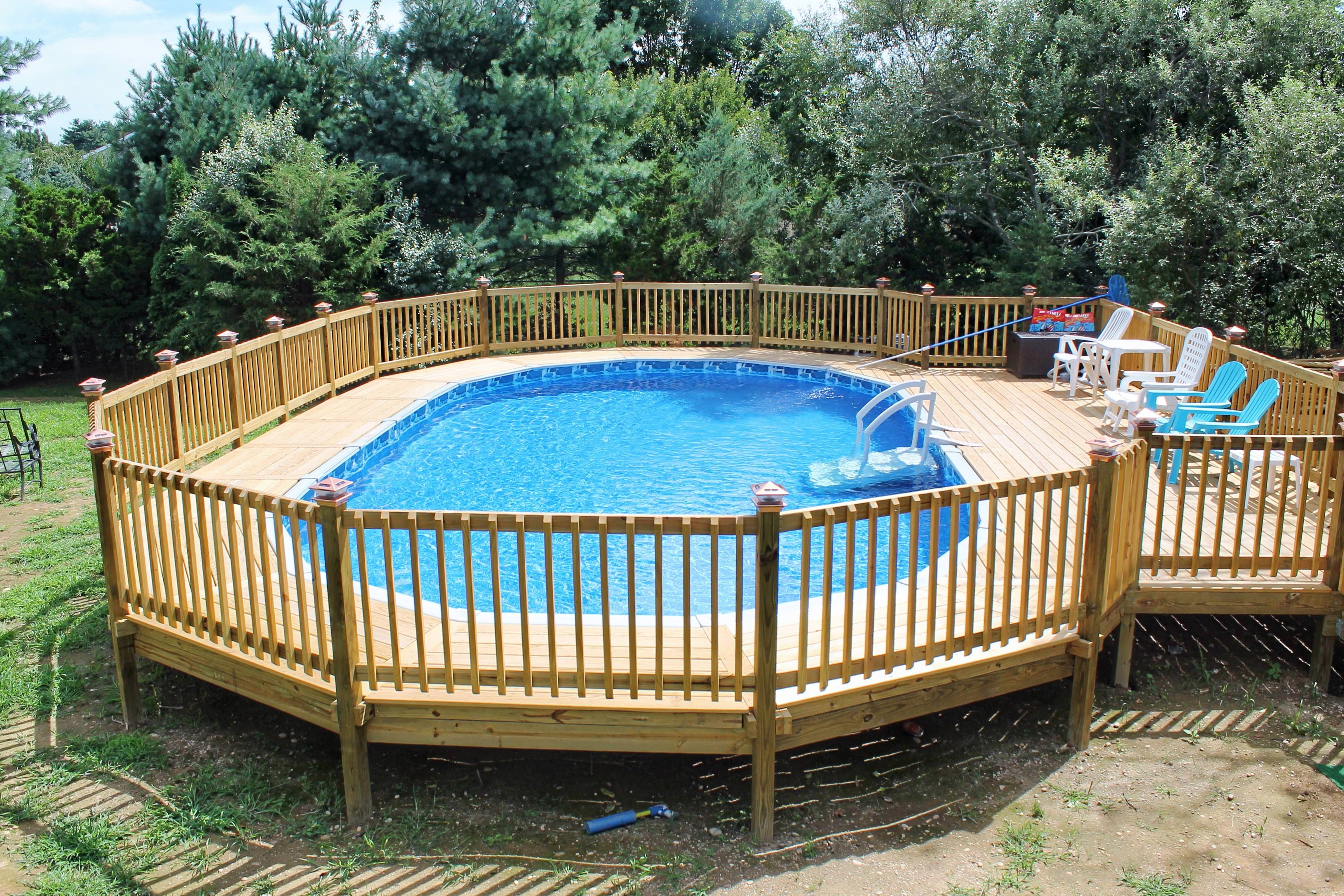 above ground pools with decks prices home design ideas. Black Bedroom Furniture Sets. Home Design Ideas