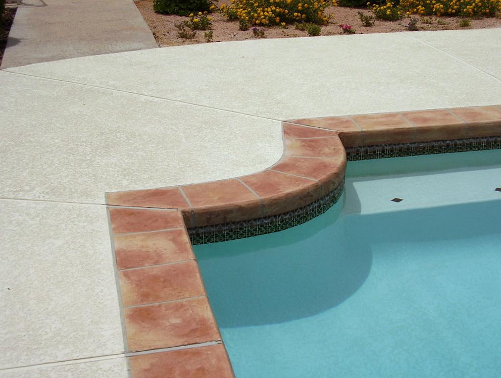 Acrylic Pool Deck Cost