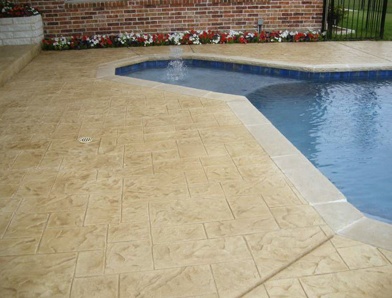 Acrylic Pool Deck Resurfacing