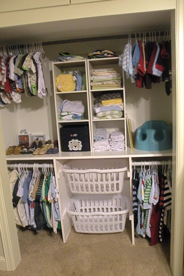 Baby Closet Ideas Pinterest
