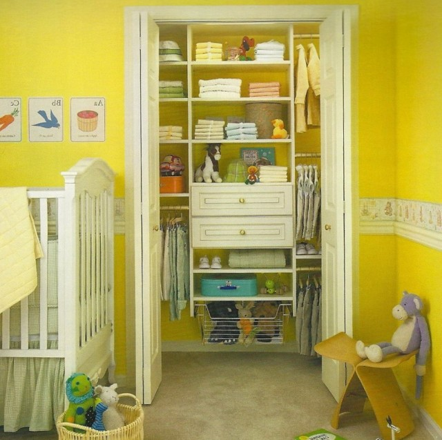 Baby Closet Shelving Ideas