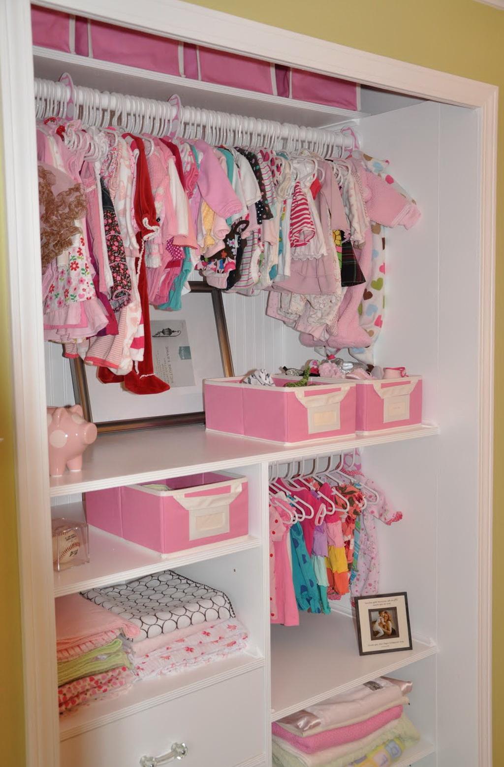 Baby Girl Closet Ideas