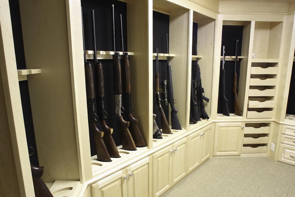 Best closet gun safe home design ideas for Walk in safes for homes