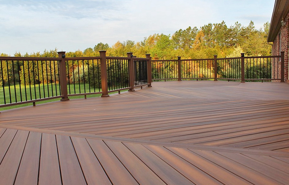 Best composite decking material home design ideas for Best material for deck