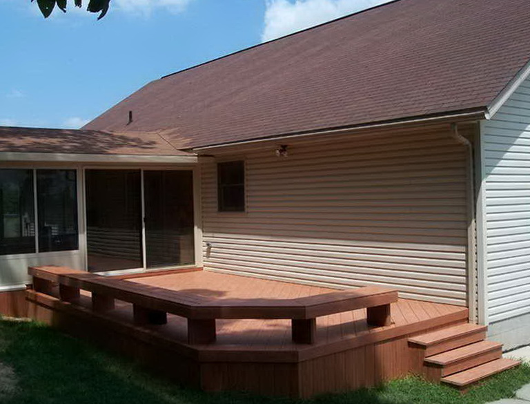 Best composite decking reviews home design ideas for Composite deck material reviews