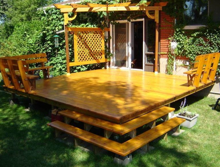 Building A Freestanding Deck Video