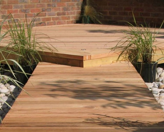 Building Deck Stairs On Uneven Ground Home Design Ideas
