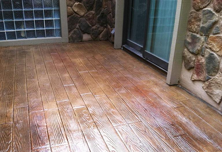 Building A Wood Deck Over Concrete Patio