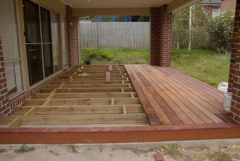 Building A Wood Deck Over Concrete | Home Design Ideas