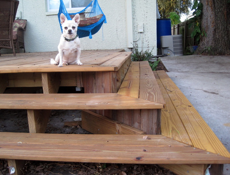 Building A Wood Deck Over Dirt