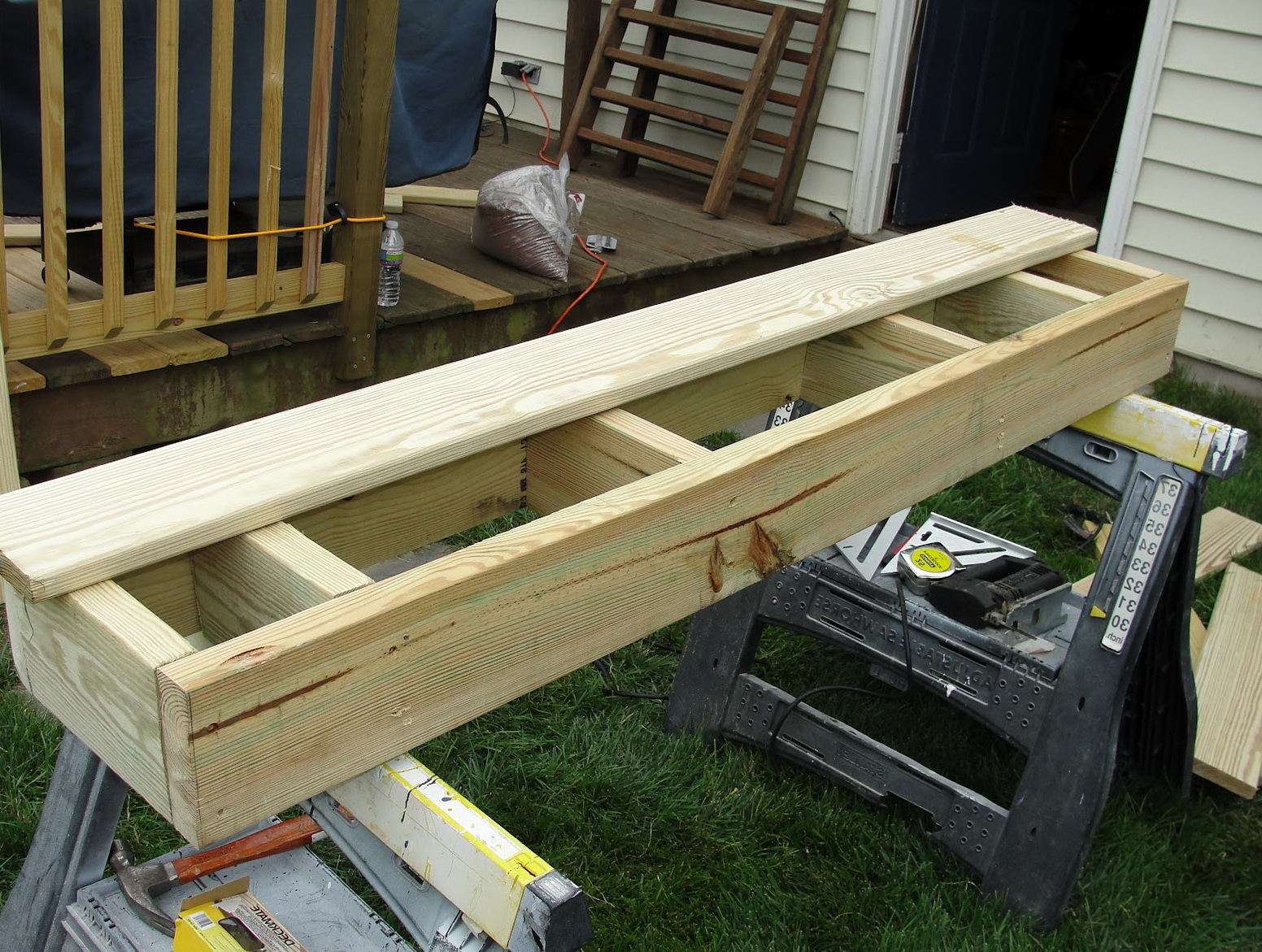 Building box steps for a deck home design ideas for Box steps deck
