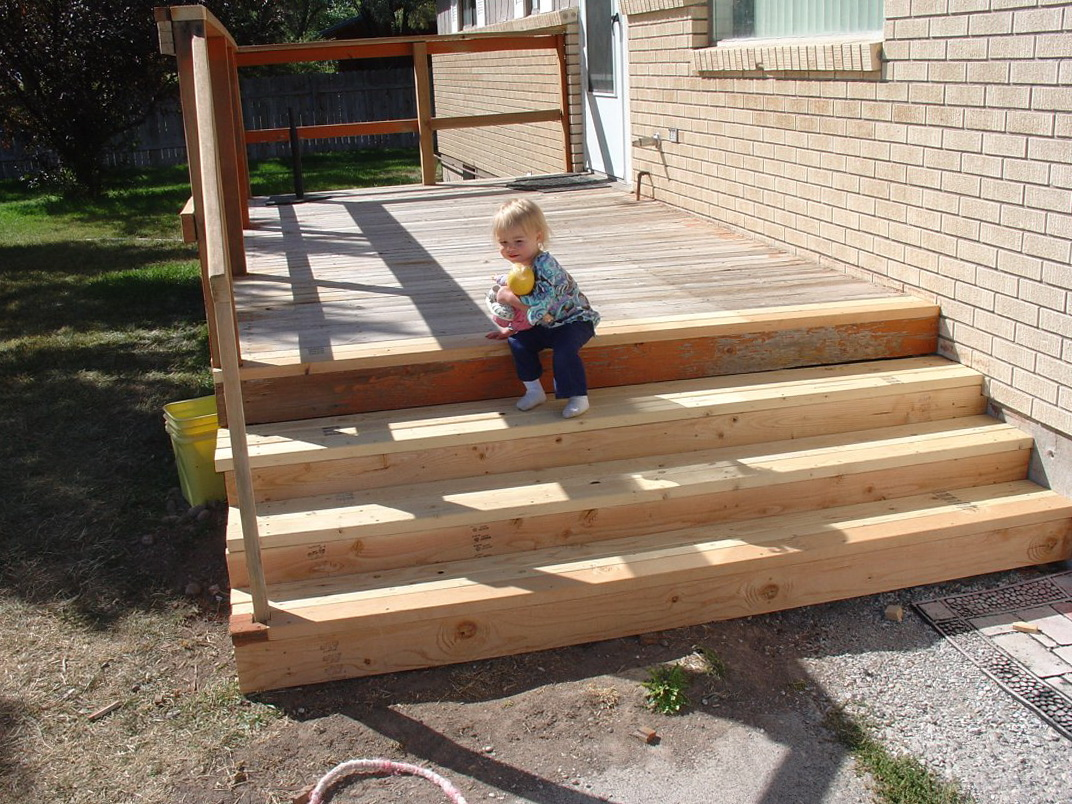 Building steps for a deck nz home design ideas for Construction steps for building a house