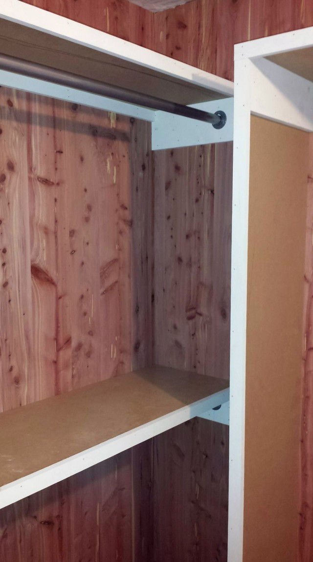 Cedar Paneling For Closets