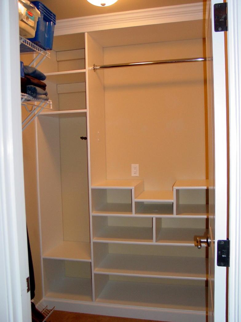 Closet Built Ins Plans