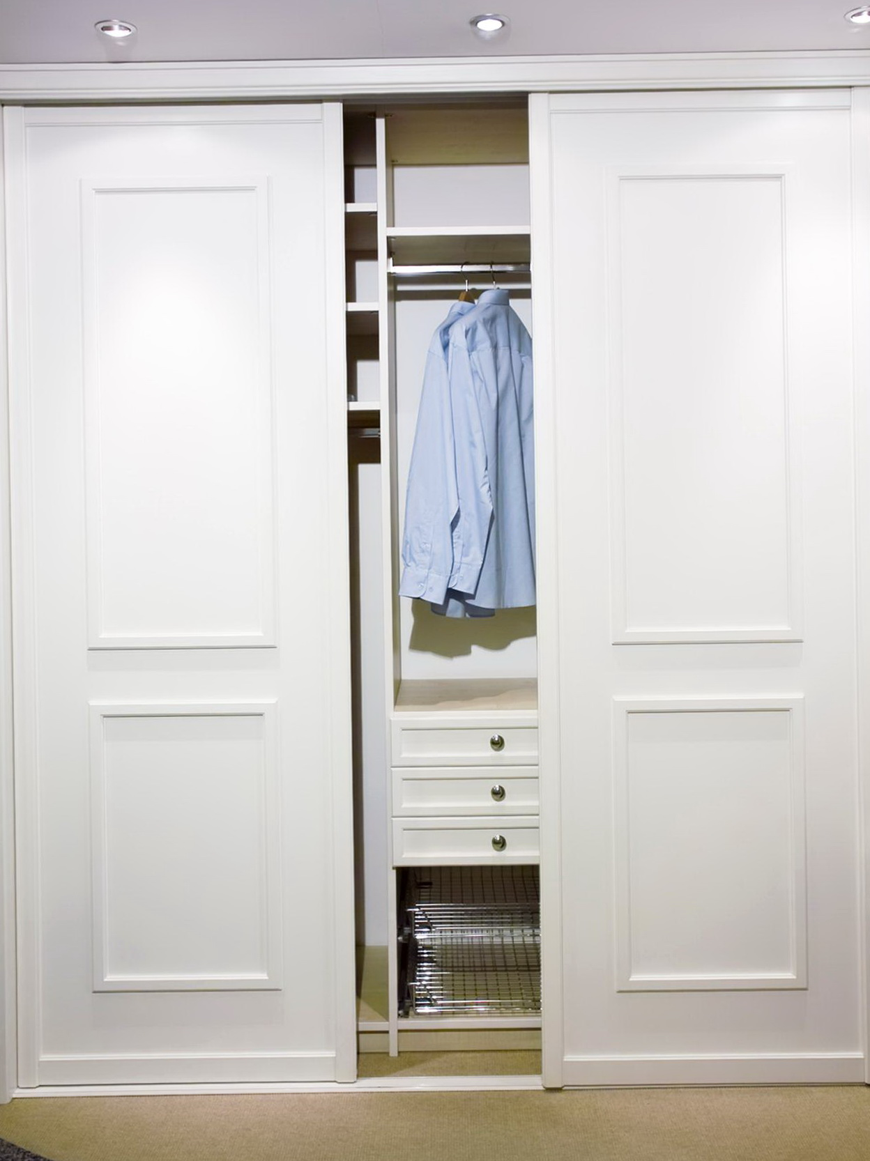 Closet Door Options Design