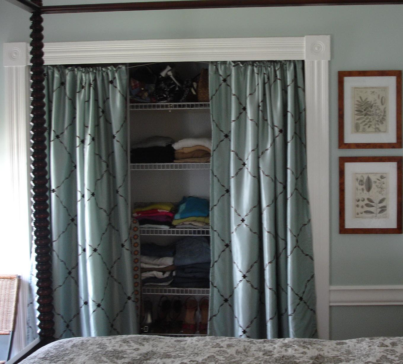 Closet Door Options Fabric