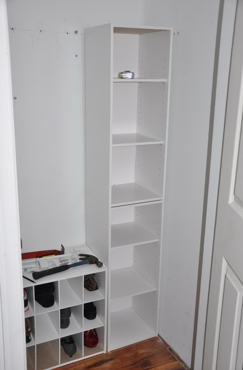 Closet Shelving Units Lowes | Home Design Ideas