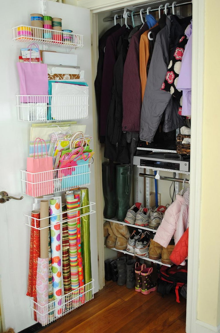 Coat Closet Organization Pinterest Home Design Ideas