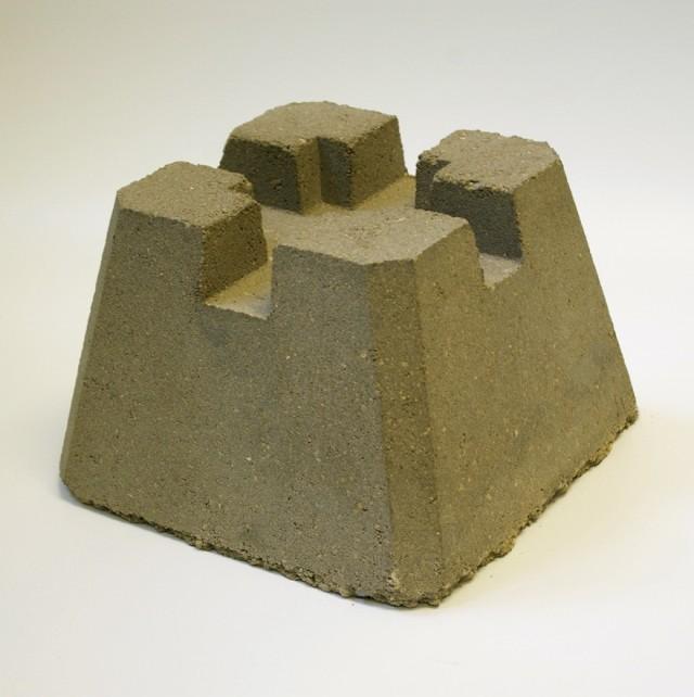Concrete Deck Block Dimensions