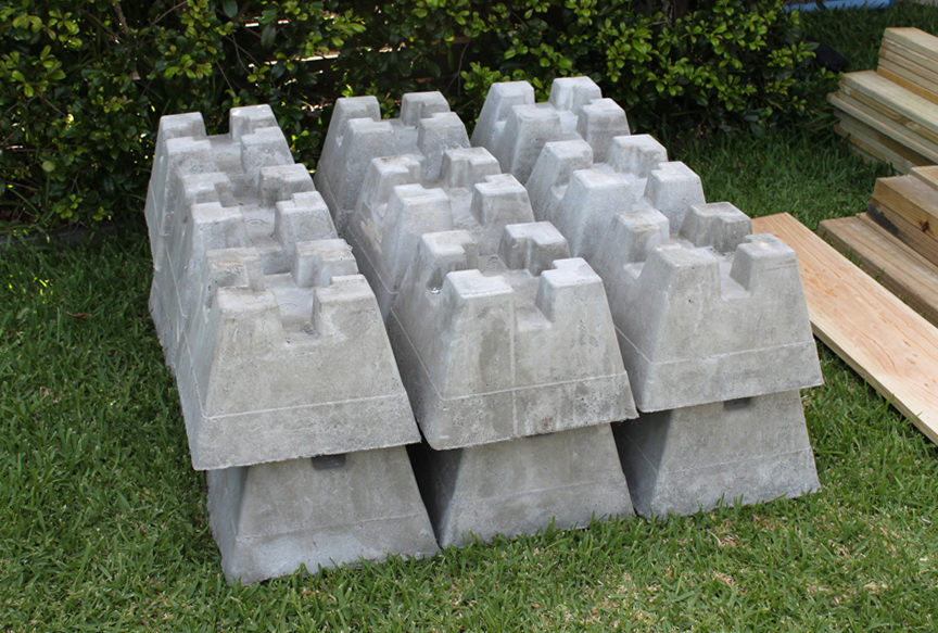 Concrete Deck Blocks Uk