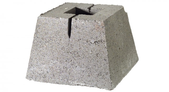 Concrete Deck Pier Block