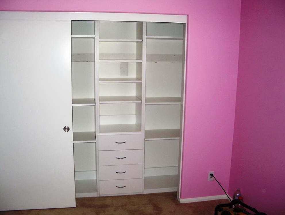 Custom Built Closet Organizers